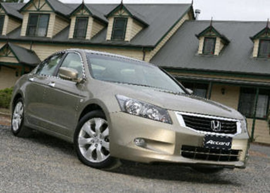 Honda Accord V6 2008 Review