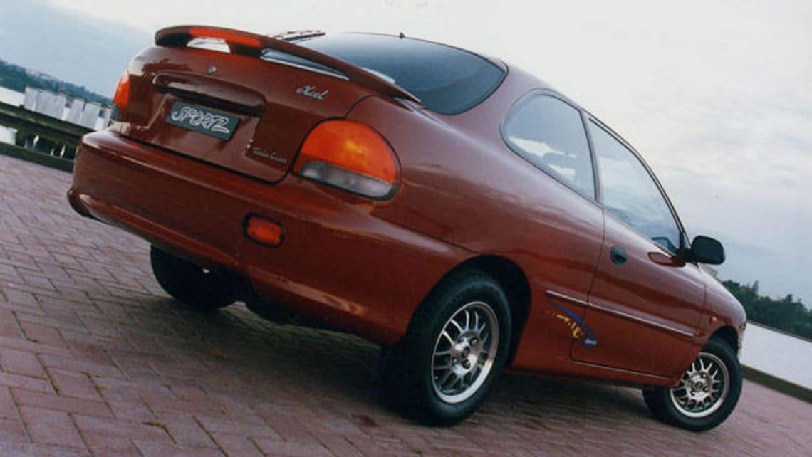 Hyundai excel twin cam