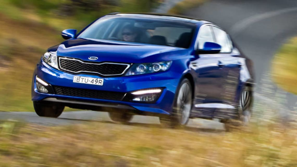 Kia Optima Platinum 2012 Review