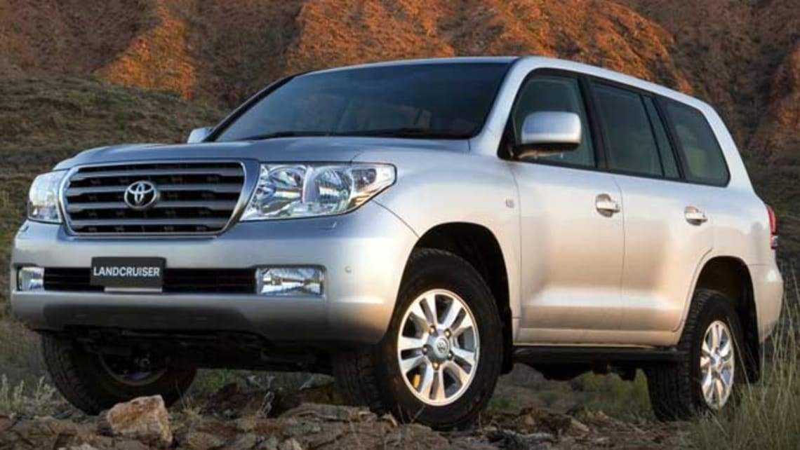 Toyota Land Cruiser 200 Gets More V8