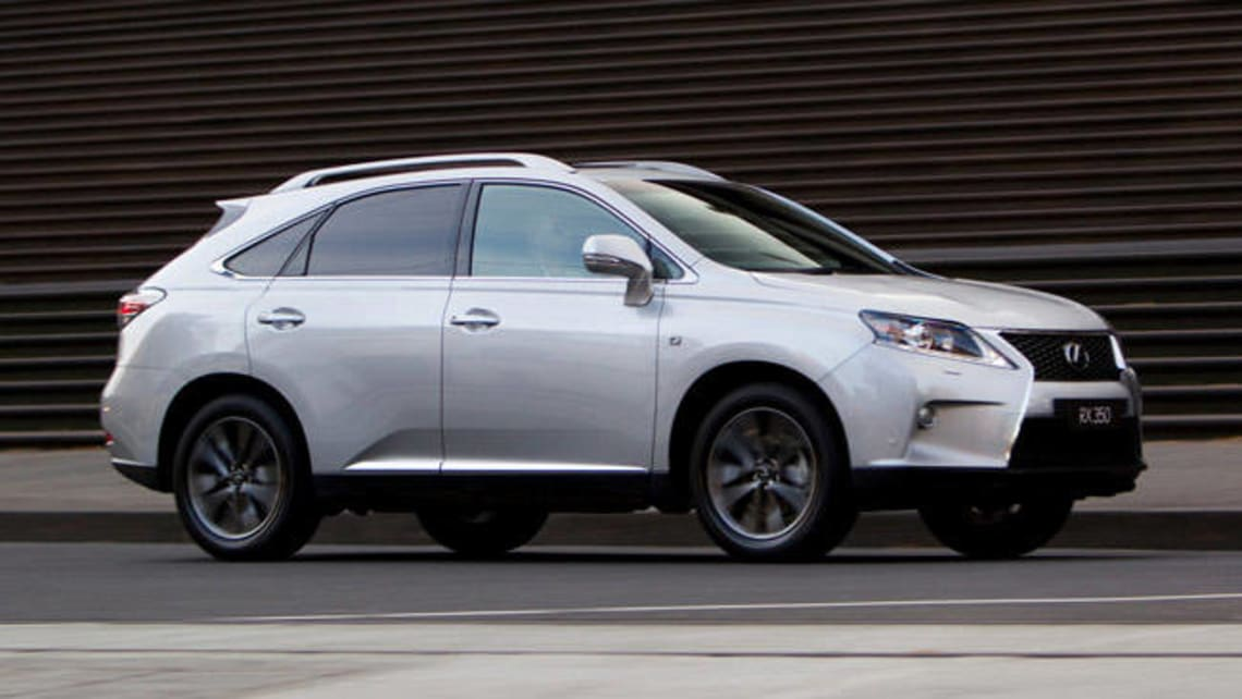 Lexus RX350 F Sport 2013 Review