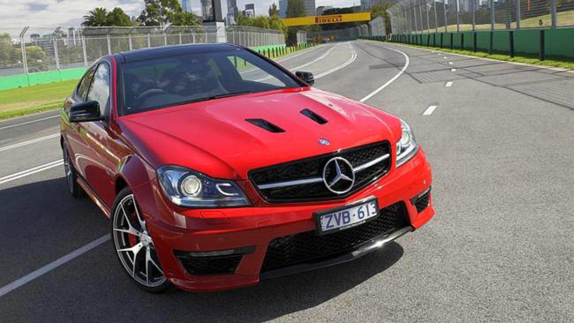 Mercedes c63 amg edition 507 2014 review carsguide for 2014 mercedes benz c63 amg edition 507