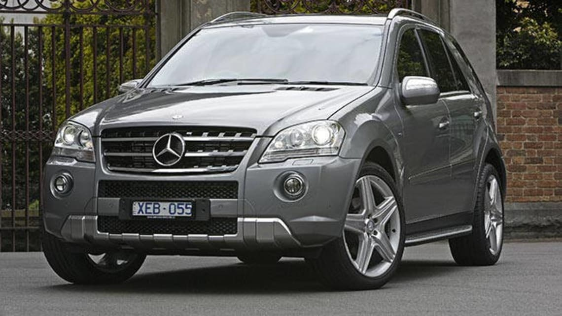 Used mercedes benz ml350 review 2005 2010 carsguide for 2005 mercedes benz ml350