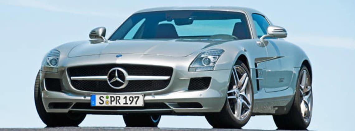 Mercedes Benz Gullwing SLS Price Surprise