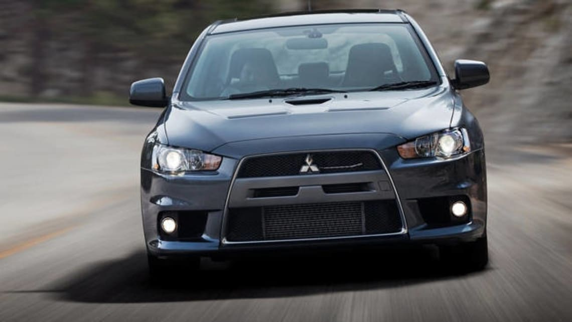 2013 mitsubishi evolution mr