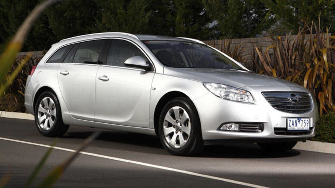 Opel Insignia Tourer Select 2.0 CDTi 2012 review