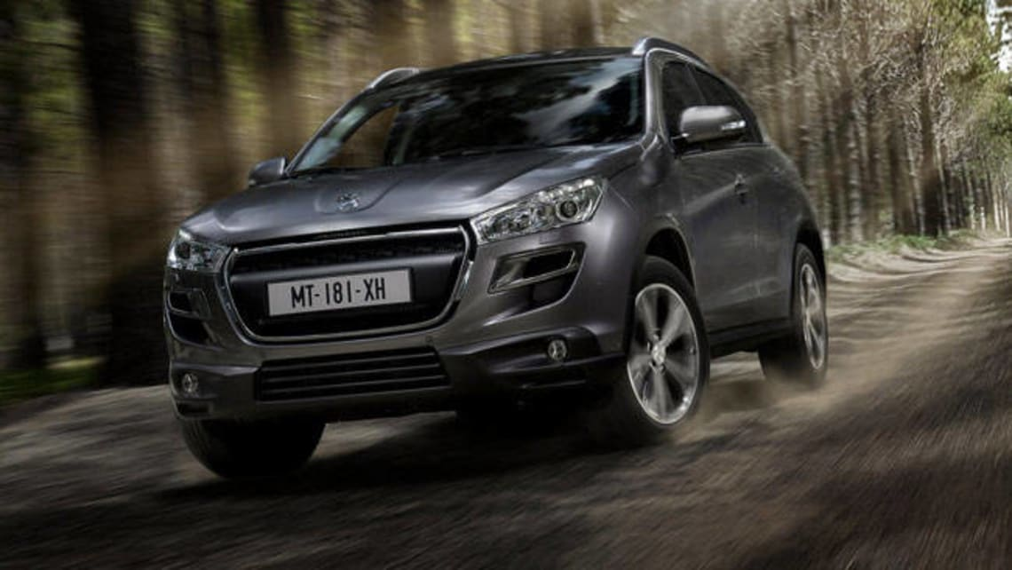 Peugeot 4008 2012 review: road test