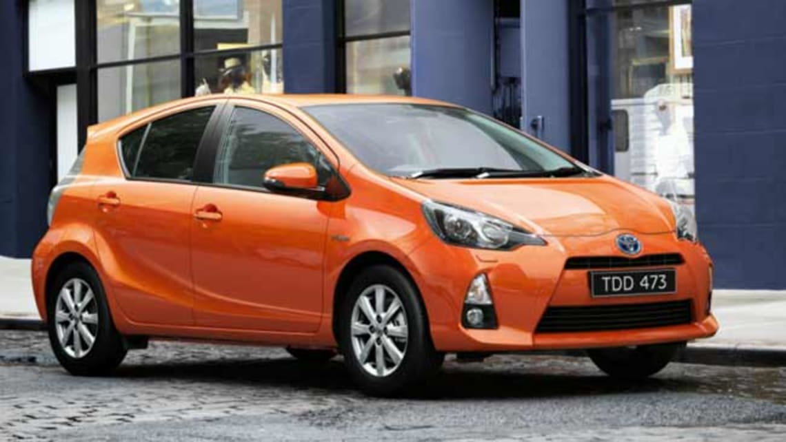 Toyota Prius C 2012 review: first drive