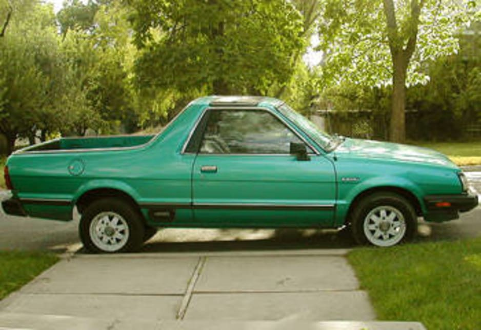 Used Subaru Brumby Review: 1984 1994