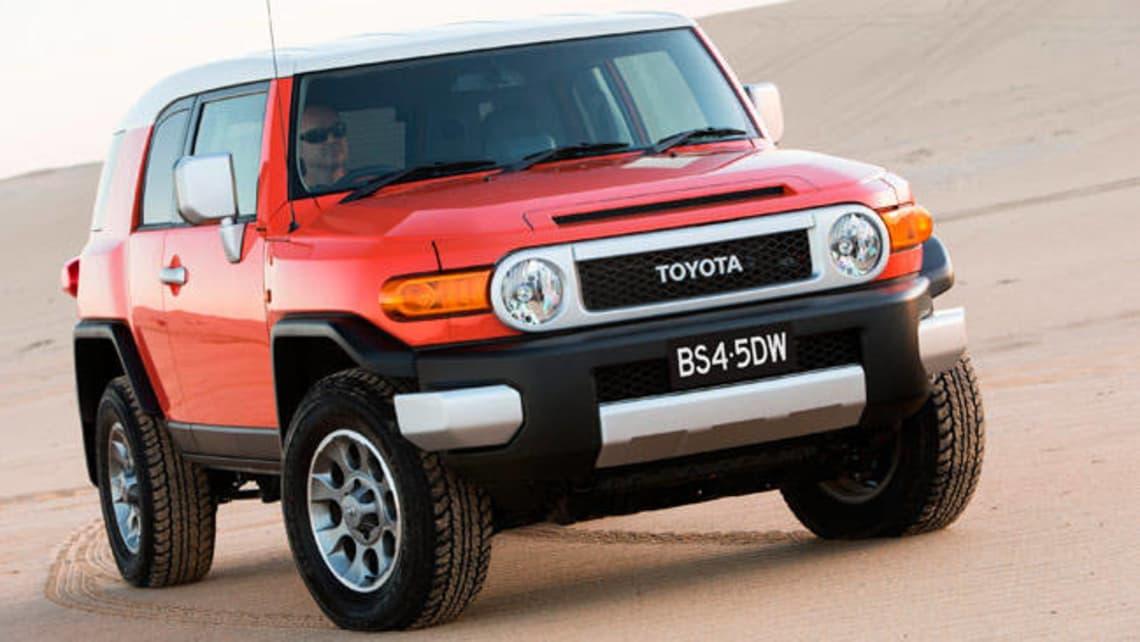 Toyota fj cruiser carsales