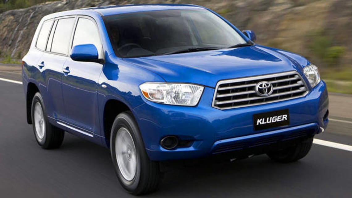 Prince Auto Sales >> Used Toyota Kluger review: 2007-2009 | CarsGuide