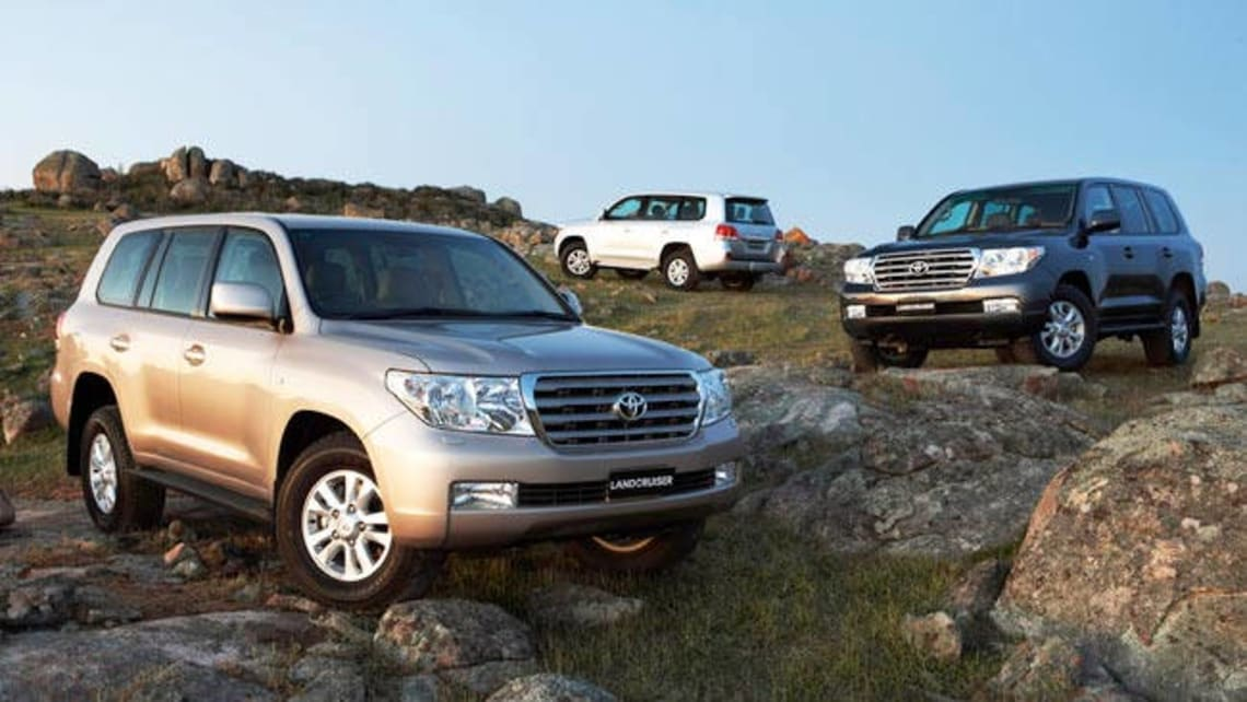 Used Toyota Land Cruiser Review: 2007 2009