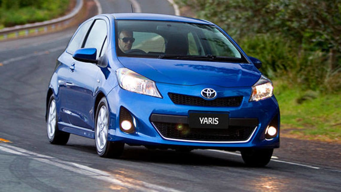 Awesome Used Toyota Yaris Review: 2011 2013