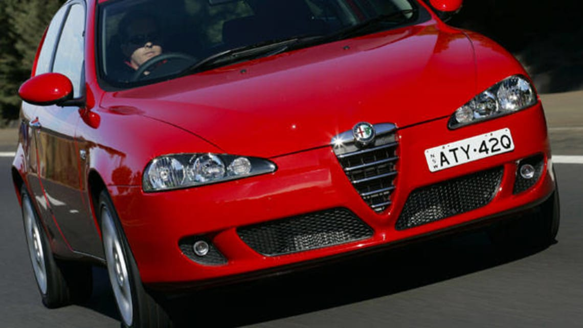used alfa romeo 147 review 2003 2006 carsguide. Black Bedroom Furniture Sets. Home Design Ideas