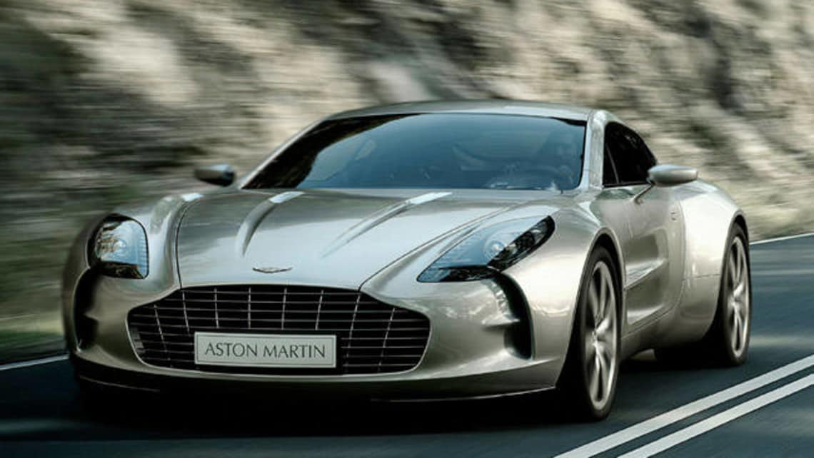 Australia S Only Aston Martin One 77 At The 2012 Motor Show Car