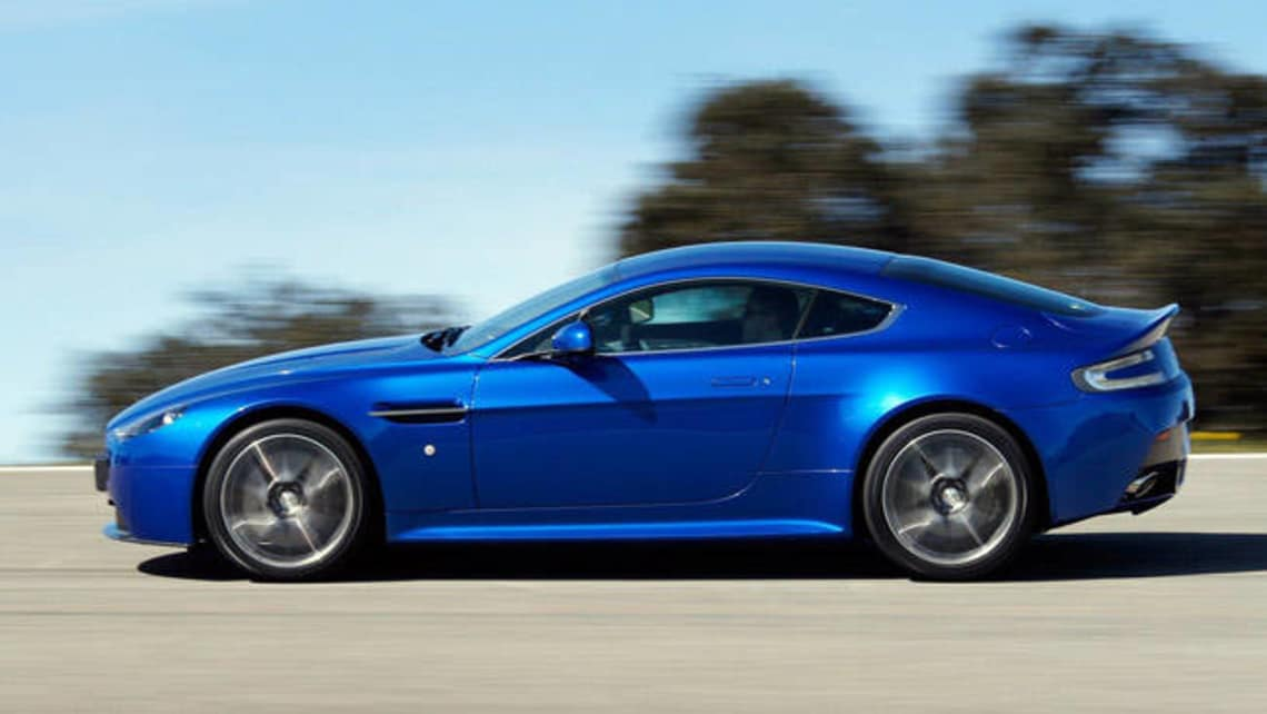 Aston Martin V8 2011 Review