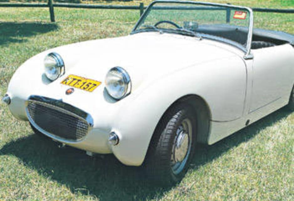 Austin Healey Sprite 1958 review