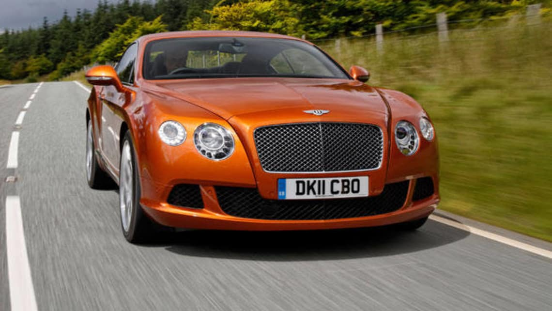 Bentley Continental GT 2012 Review
