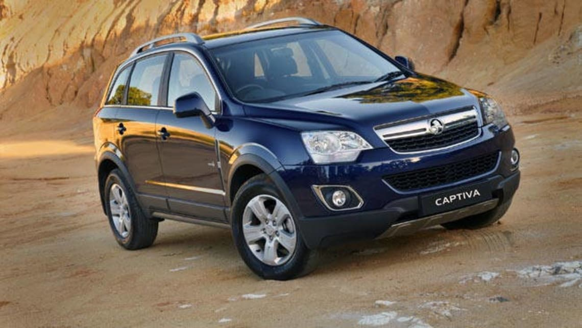 Holden Captiva Diesel 2011 Review Carsguide
