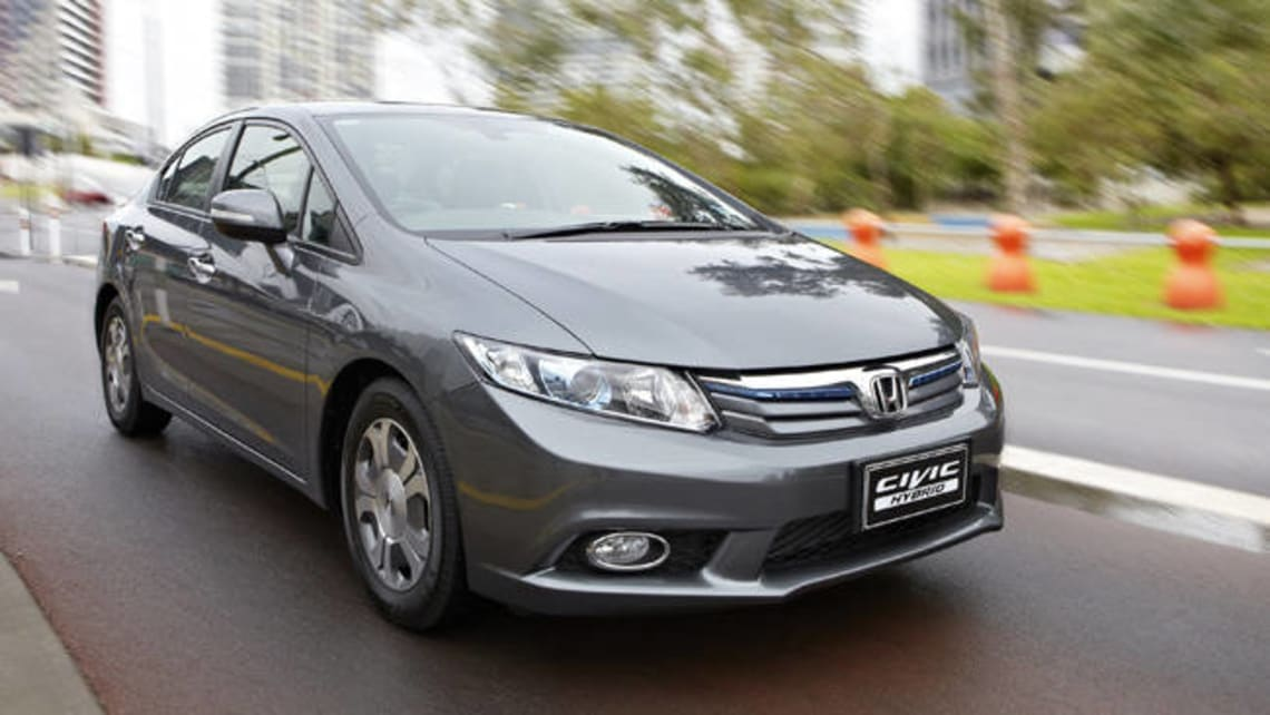 Honda Civic Hybrid 2012 Review: Snapshot