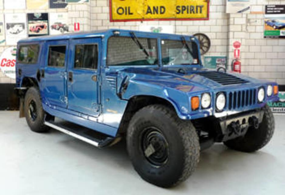 hummer under the hammer car news carsguide