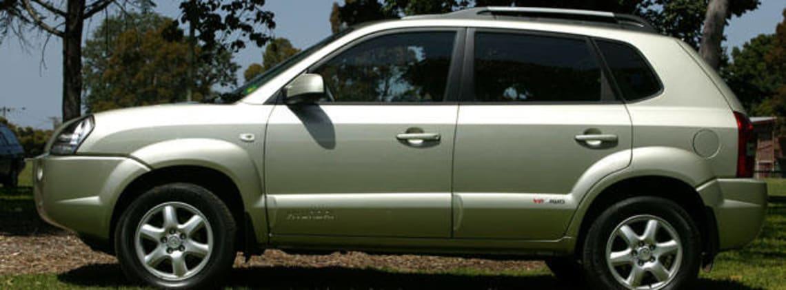 Charming Used Hyundai Tucson Review: 2004 2008