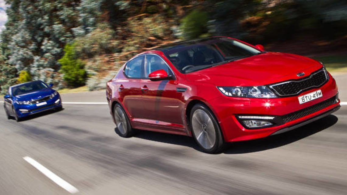 Amazing Kia Optima GDI 2012 Review