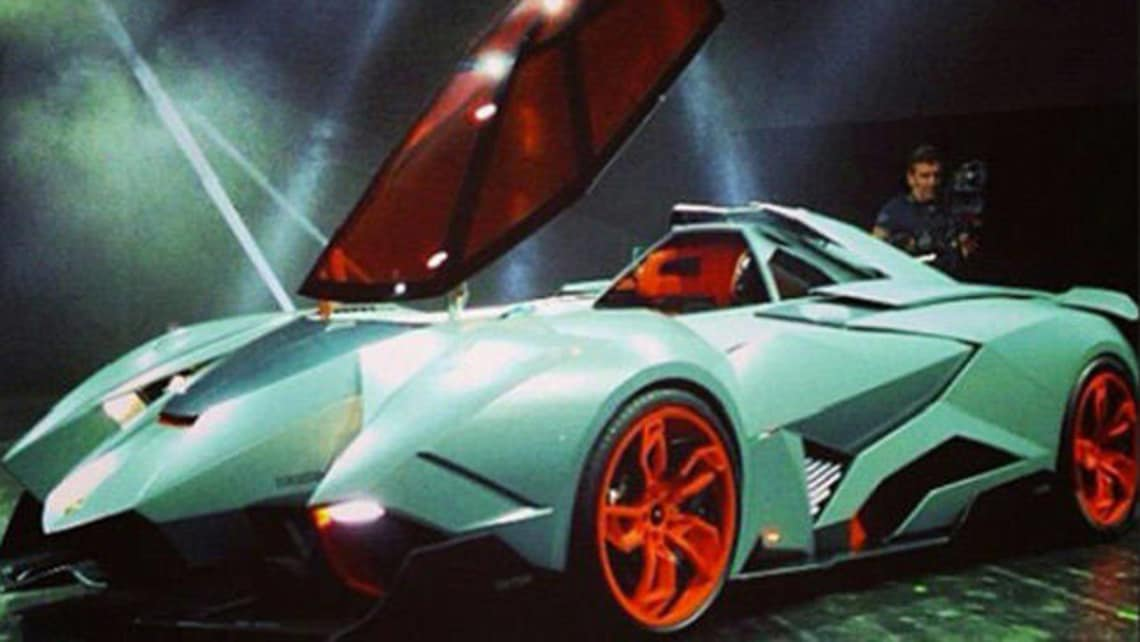 Lamborghini Egoista Concept Revealed Car News Carsguide
