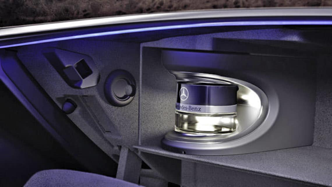 Mercedes Benz S Class Gets Perfume Dispenser Car News Carsguide