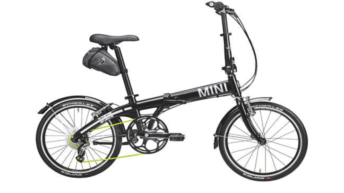 Mini shows folding bicycle - Car News | CarsGuide