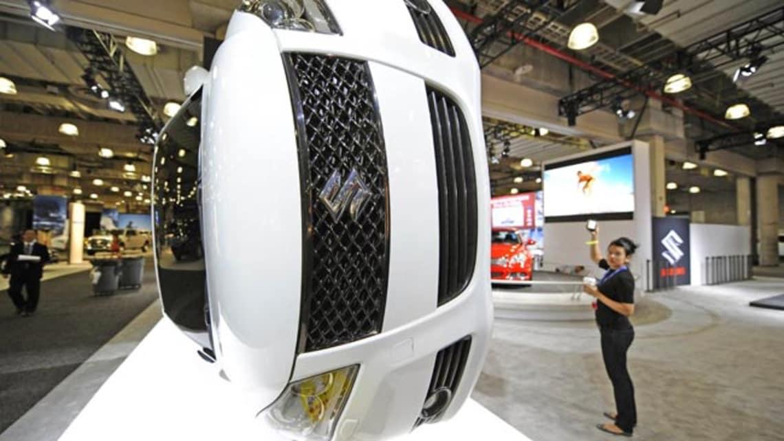 Suzuki Reveals Kizashi Turbo And Green Car News Carsguide