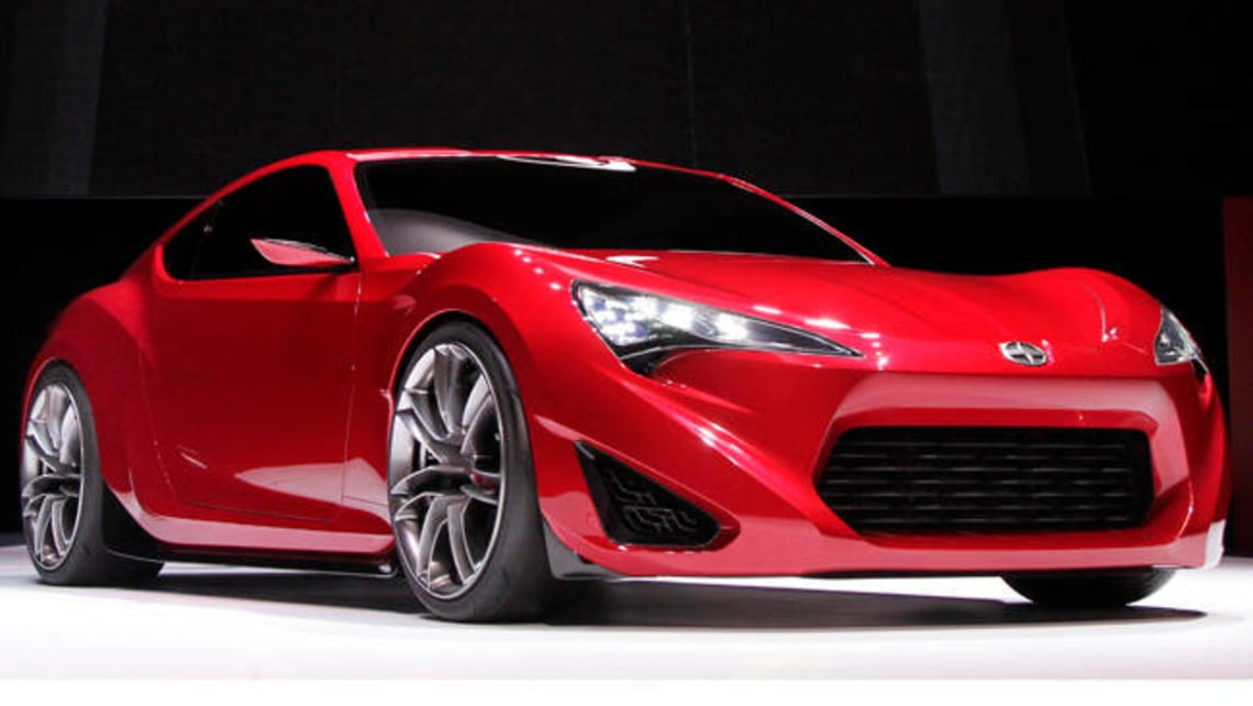Toyota Unveils Scion Sports Star