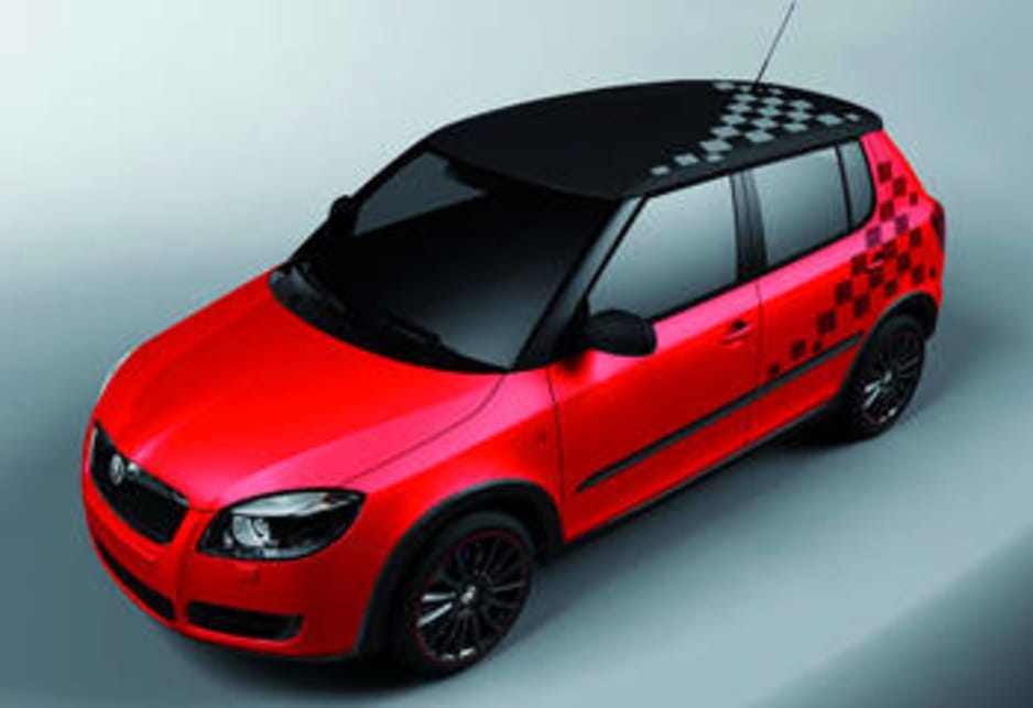 skoda fabia rs concept in sights car news carsguide Skoda Fabia RS Sun Roof skoda fabia rs concept in sights