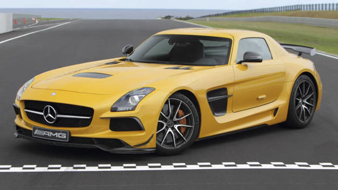 Only Two Mercedes Benz SLS AMG Black Series Left