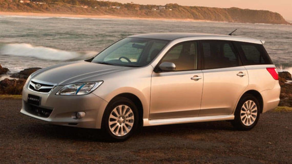Used Subaru Exiga review 20092011  CarsGuide