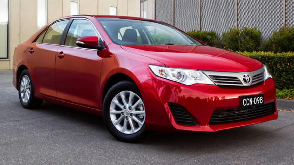 Toyota Camry Altise 2012 Review