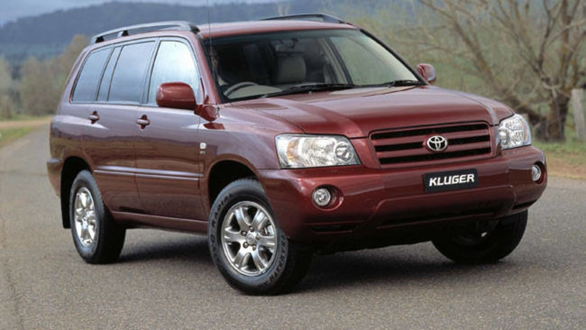 Used Toyota Kluger Review: 2003 2007