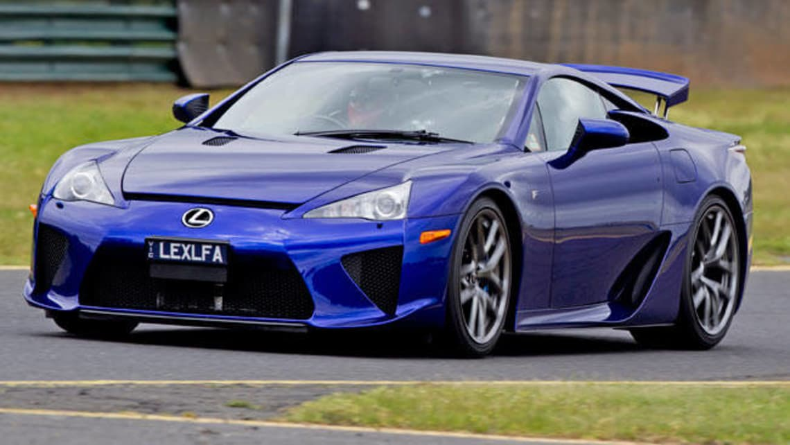 Lexus LFA Has Top Shelf Price