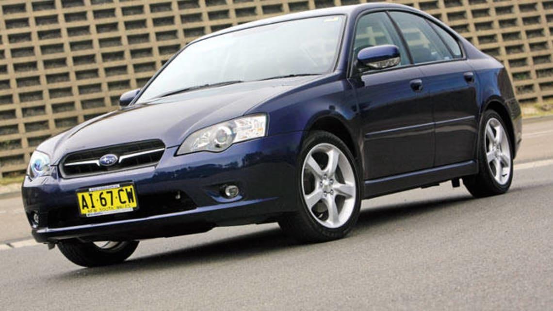 Subaru liberty fuel consumption