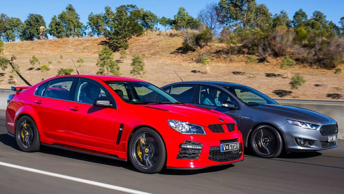 2016 Falcon XR8 Sprint vs HSV GTS.