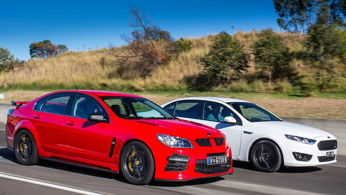 2016 Falcon XR6 Sprint vs HSV GTS.