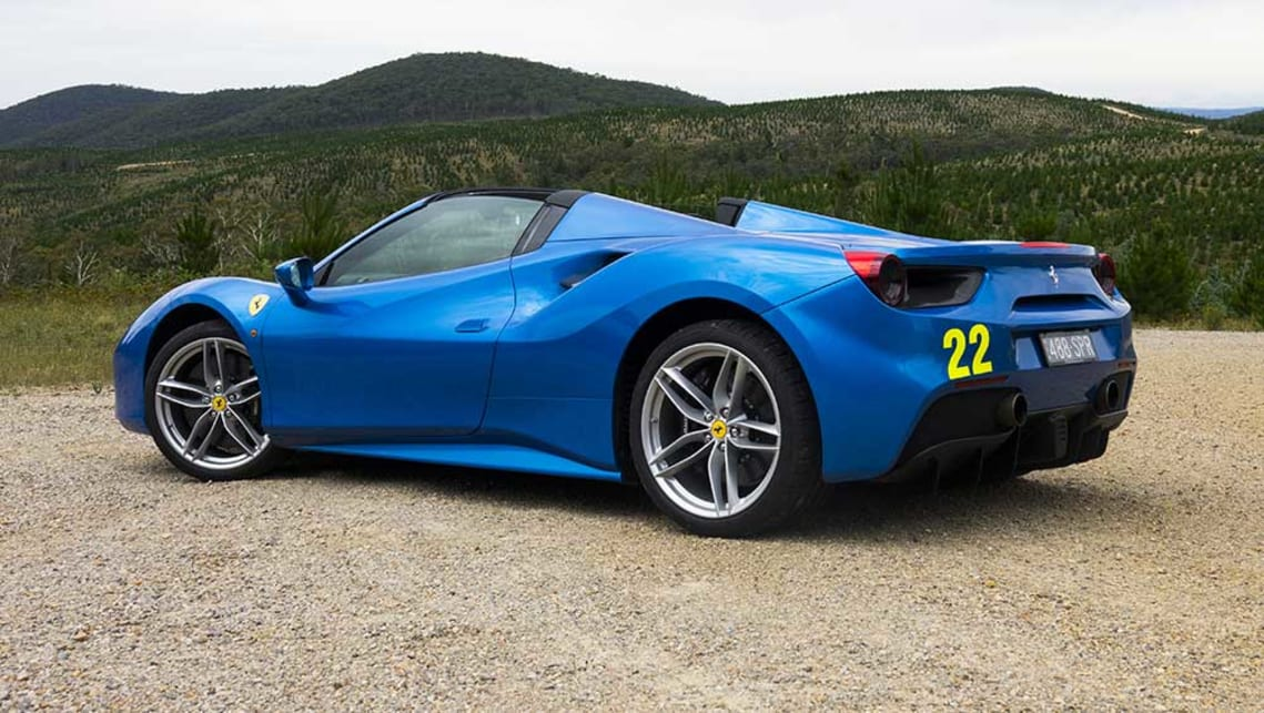 Ferrari 488 Spider 2017 Review Carsguide