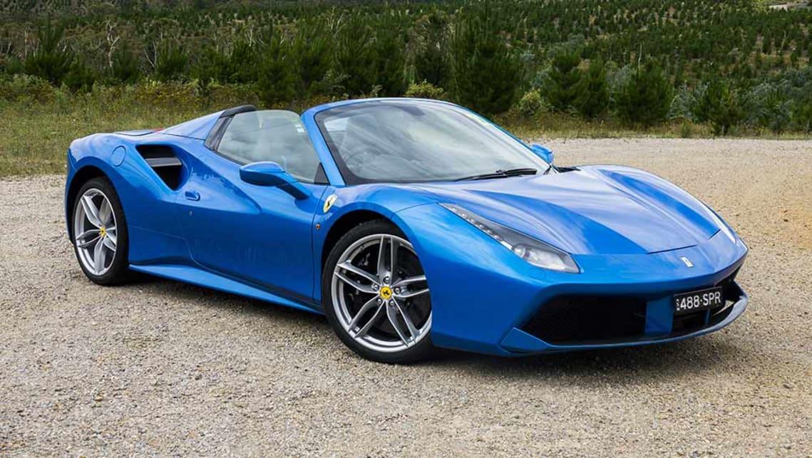 Ferrari spider 488