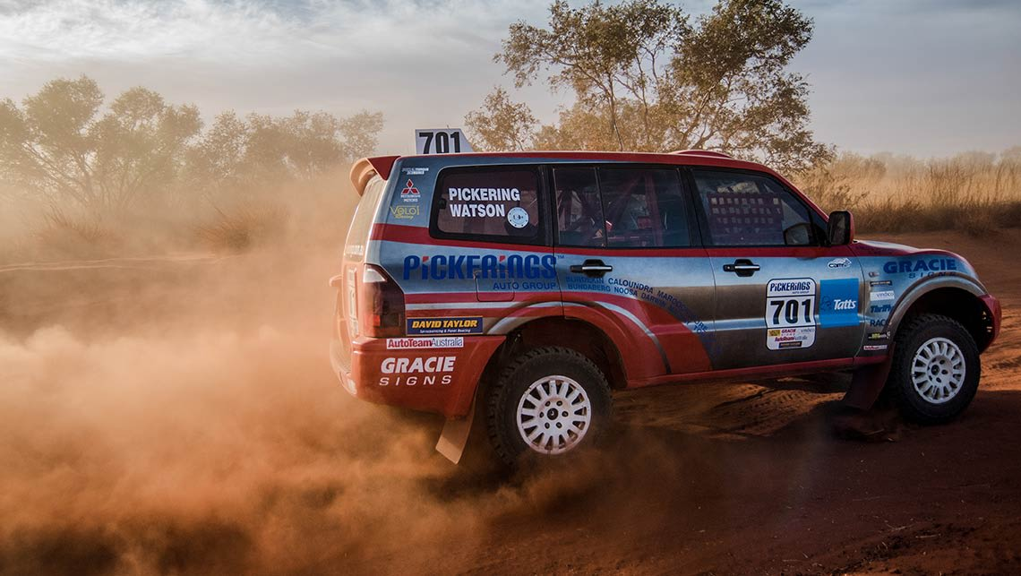 Pickering Takes Production Class Victory In Finke Desert