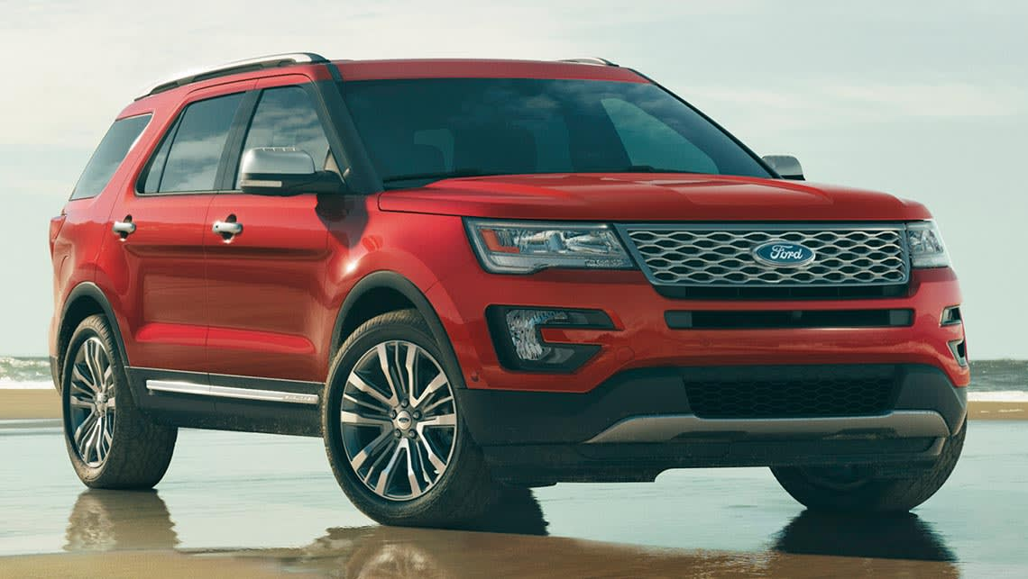 New Ford Explorer Points To New Territory Car News Carsguide