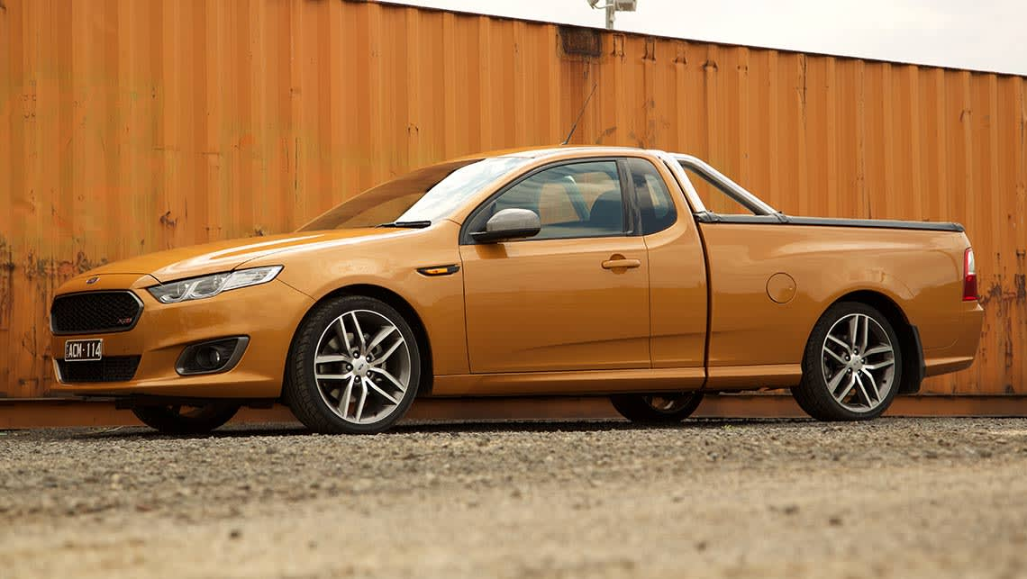 Ford Falcon Ute 2015 Review Carsguide