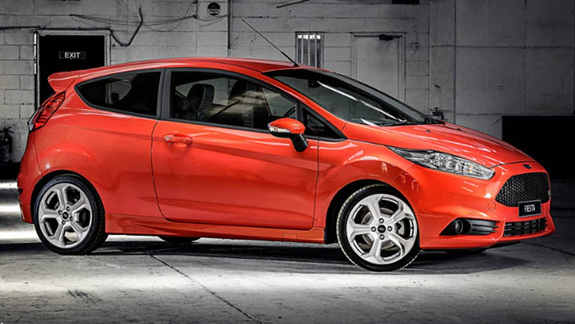 2014 Ford Fiesta ST Image Credit Dean Hales And Brendan Nish