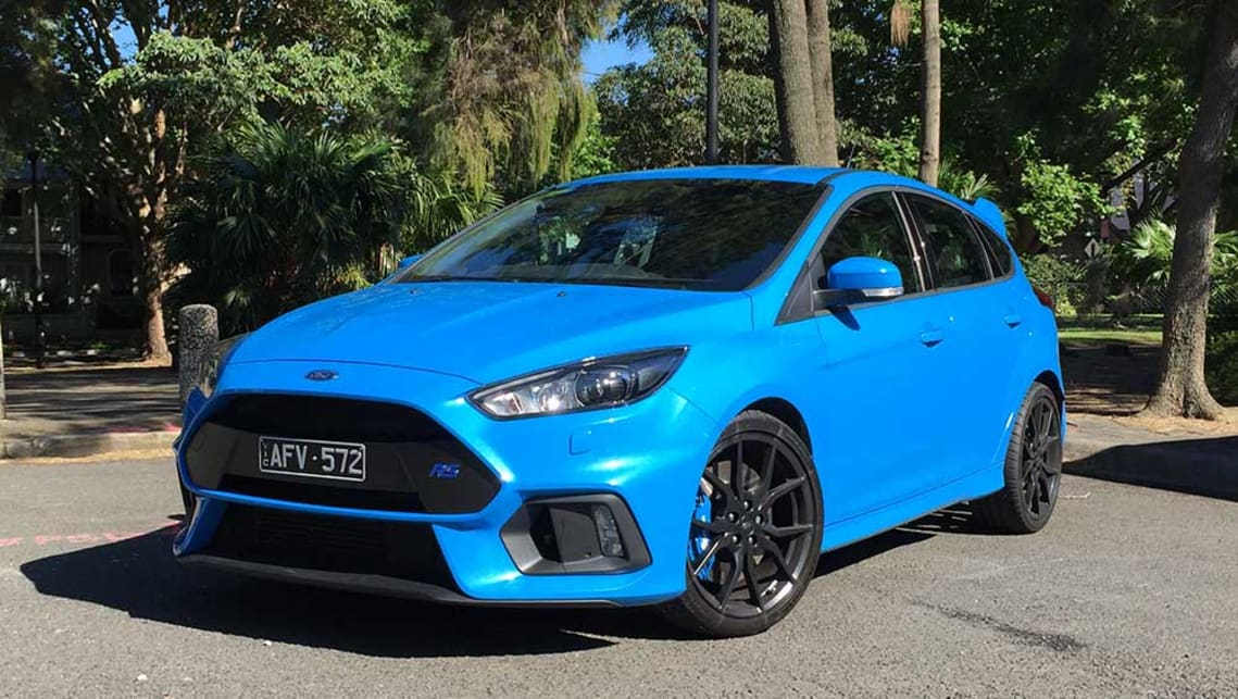 Ford Focus Rs 2016 Review Road Test Carsguide