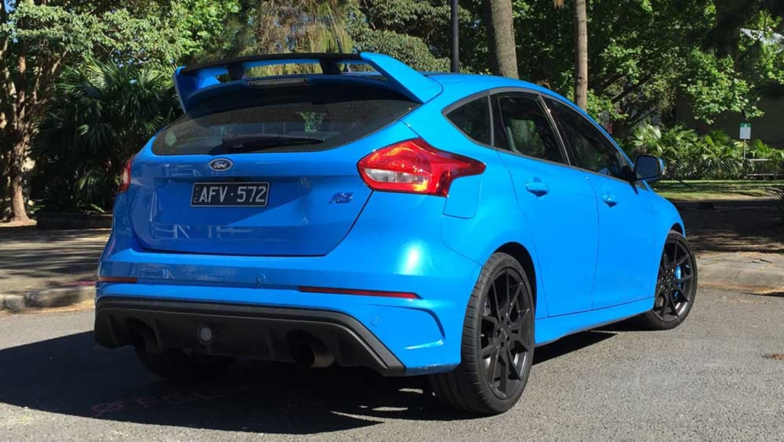 ford focus rs 2016 review road test carsguide. Black Bedroom Furniture Sets. Home Design Ideas
