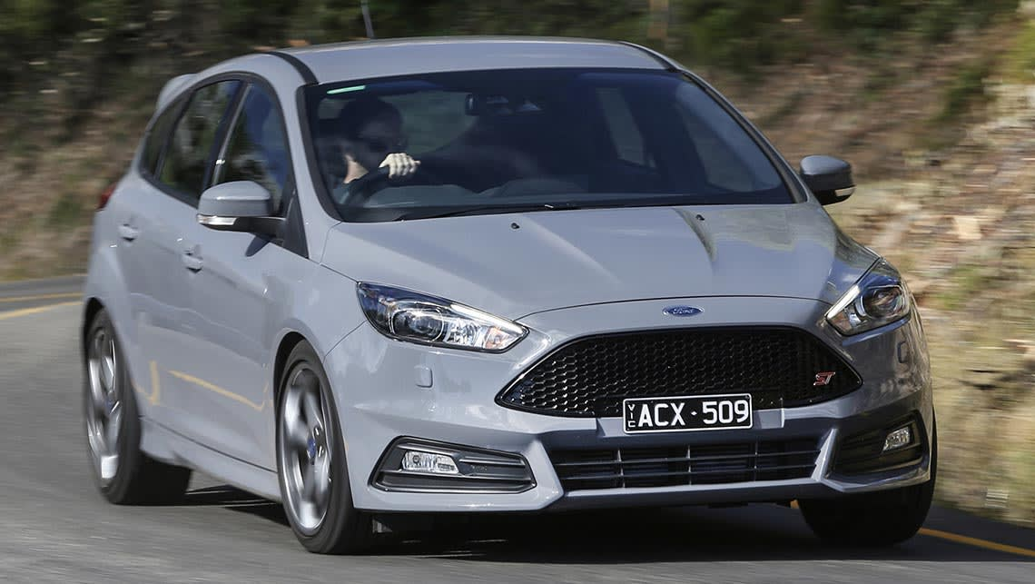 2015 ford focus st review australian launch video carsguide